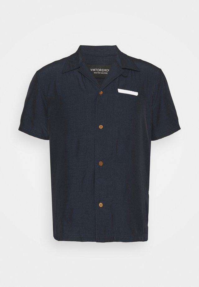BOWLING SHIRT - Shirt - navy