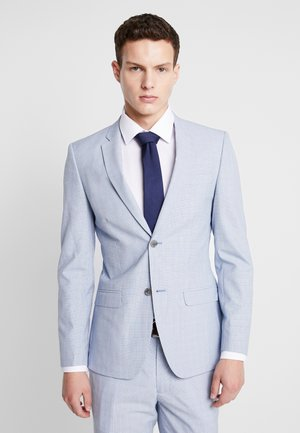 CHECK - Suit jacket - blue