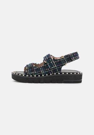 ZOE LIFT - Korkeakorkoiset sandaalit - black