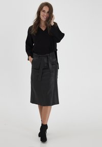 Dranella - A-line skirt - black - 1