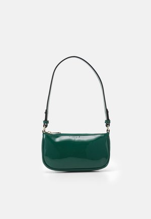 PATENT MONI BAG - Handbag - trekking green