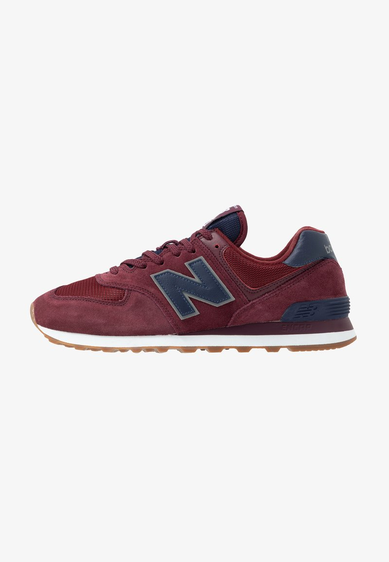 New Balance - 574 - Baskets basses - red/navy