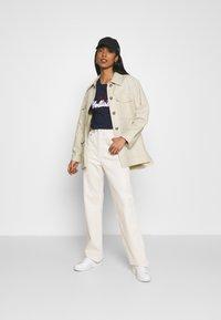 Hollister Co. - TIMELESS - Print T-shirt - navy - 1