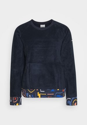 EXPLORATION CREW - Fleece jumper - dark nocturnal