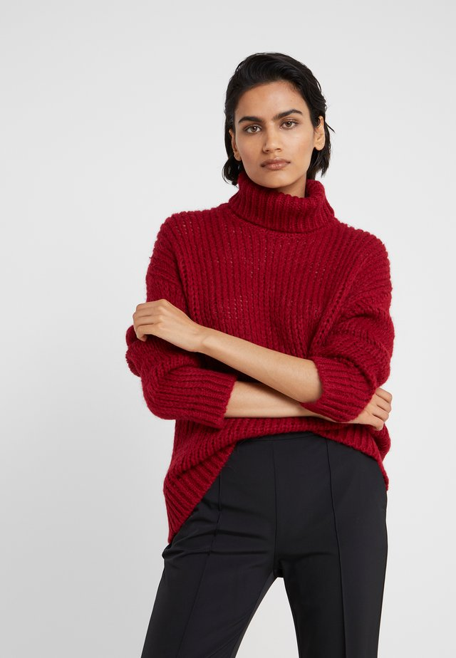 SIRIH AUGUSTA - Jumper - red rust