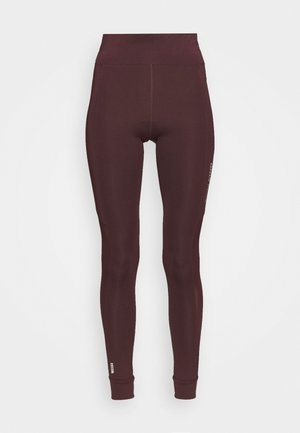ONPOPAL POWER TRAINING - Leggings - fudge