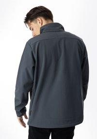Jack Wolfskin - WHIRLWIND - Soft shell jacket - ebony - 1