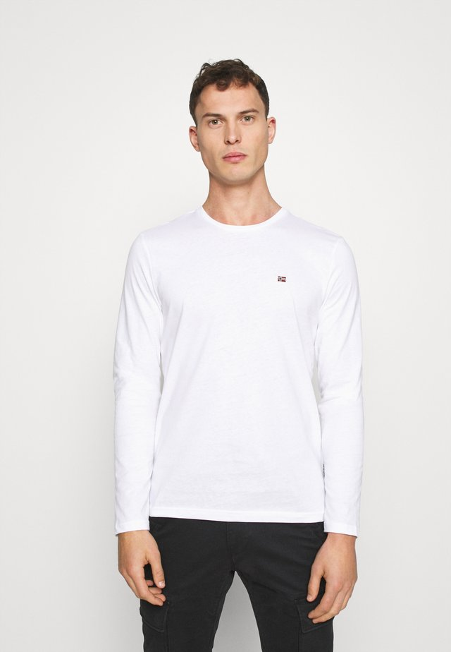 SALIS  - T-shirt à manches longues - bright white