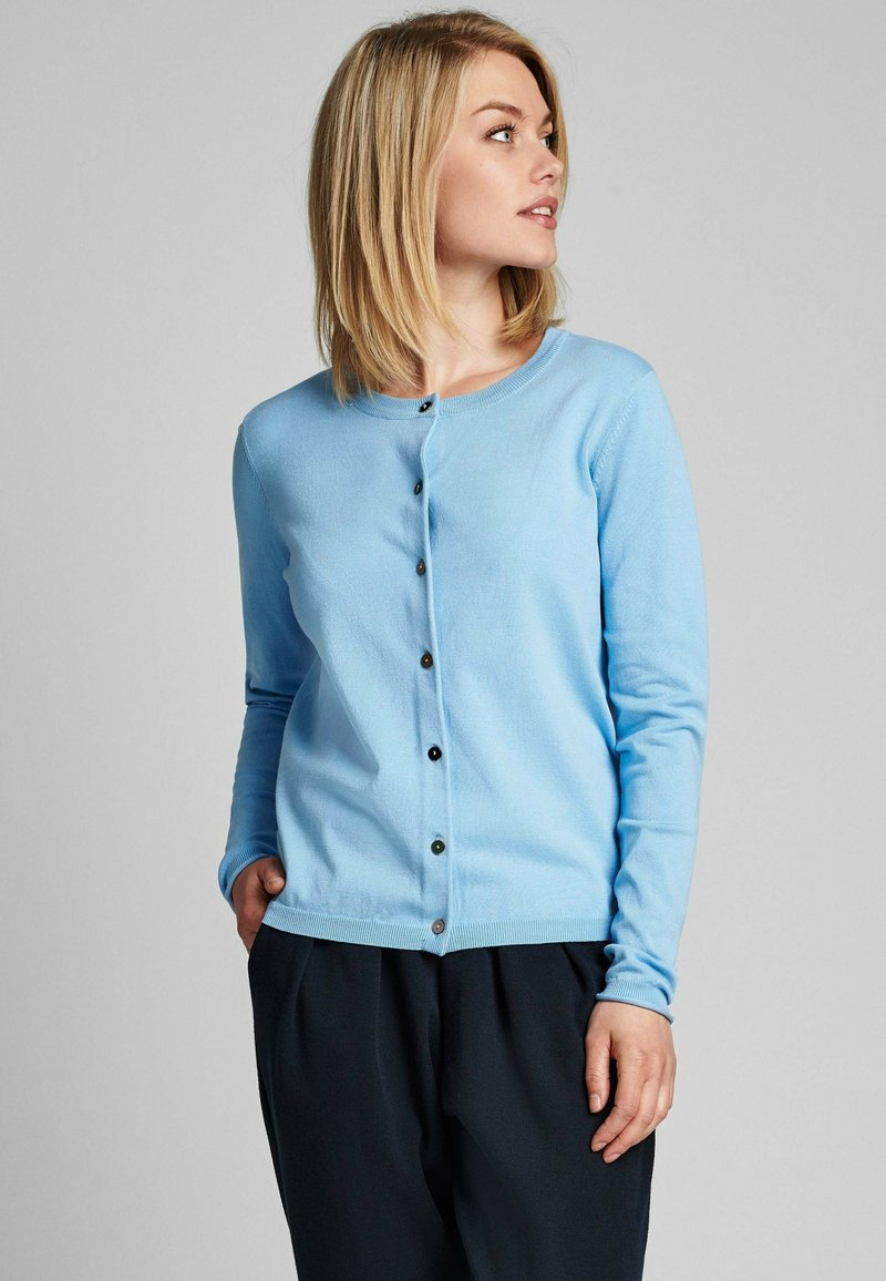 Nümph - NUBIA  - Cardigan - airy blue