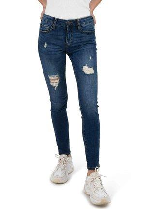 Slim fit jeans - darkdenim