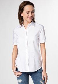 Eterna - MODERN CLASSIC - Button-down blouse - weiß - 0