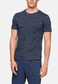 s.Oliver - T-Shirt basic - blue melange - 6
