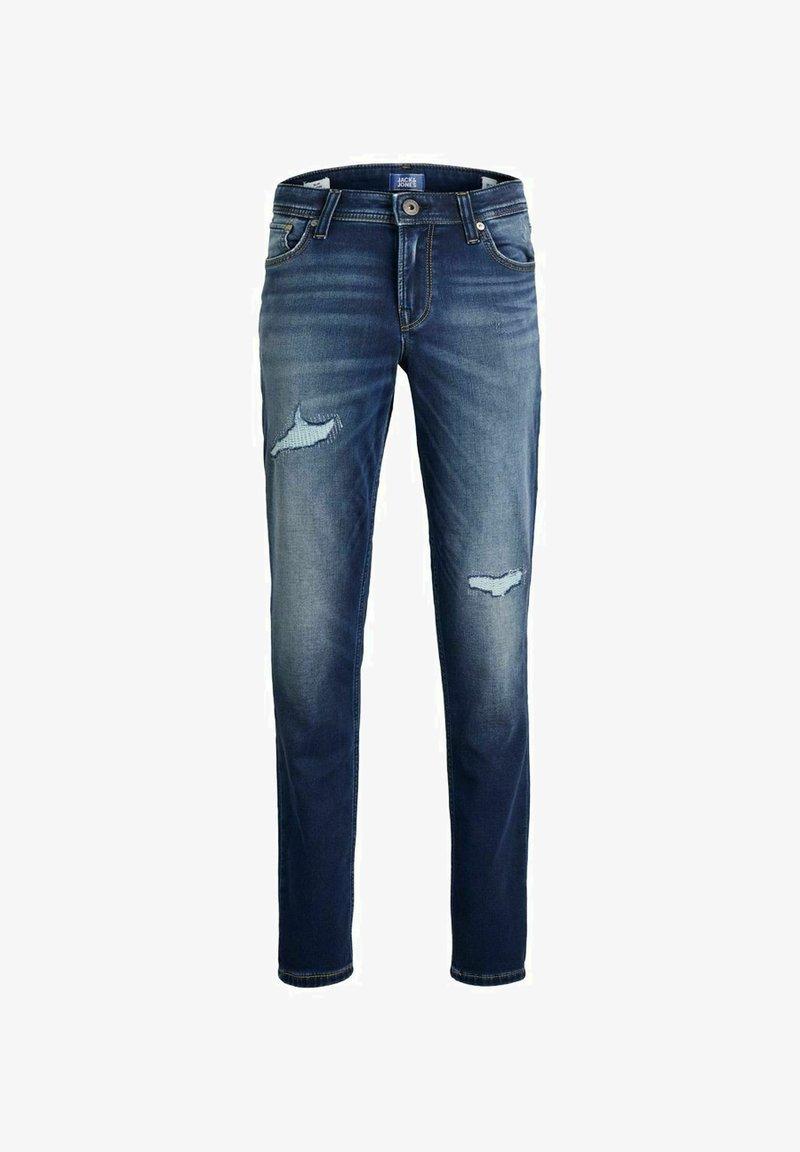 Jack & Jones Junior - JUNGS GLENN ORIGINAL AM - Slim fit jeans - blue denim