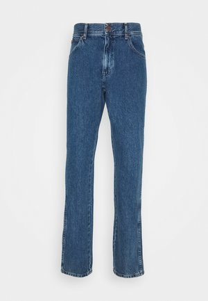 TEXAS - Straight leg jeans - jackeroo blue