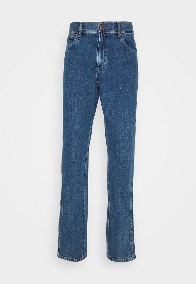 TEXAS TAPER - Relaxed fit jeans - jackeroo blue