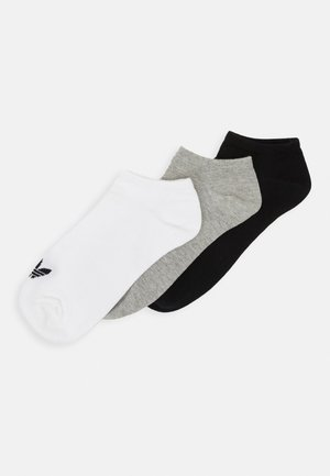 3 PACK - Chaussettes - white/black/light grey