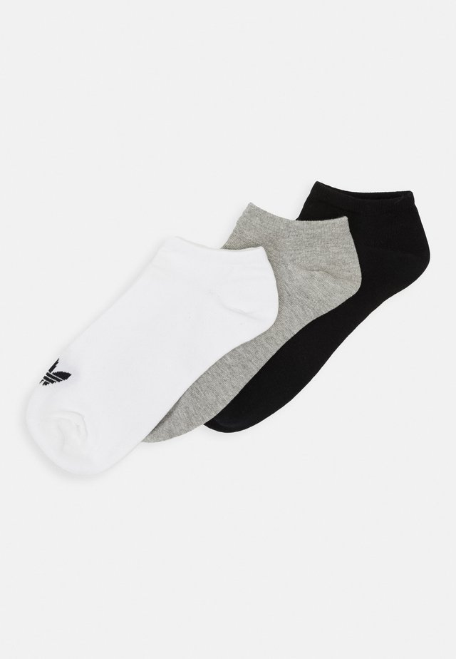 3 PACK - Ponožky - white/black/light grey