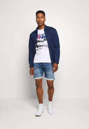 JJIRICK JJDASH  - Shorts - blue denim