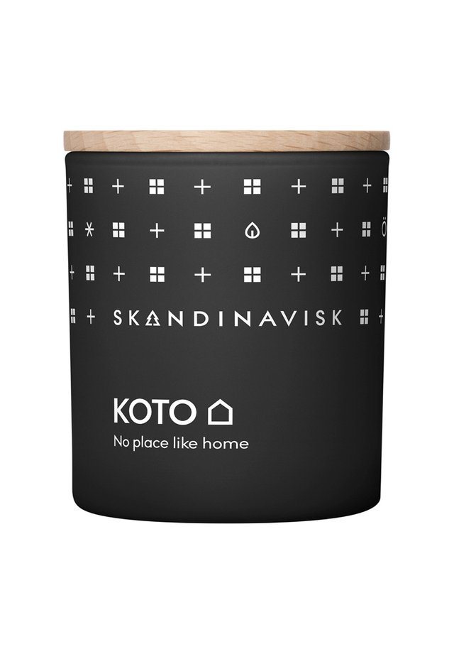 SCENTED CANDLE WITH LID - Bougie parfumée - koto