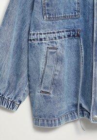Mango - COLETTE - Denim jacket - medium blue - 8