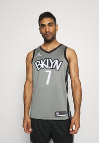 Nike Performance - NBA BROOKLYN NETS SWINGMAN JERSEY - Article de supporter - dark steel grey/black - 0
