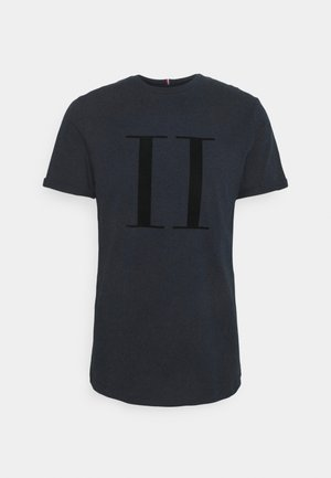 ENCORE  - Print T-shirt - dark navy/black