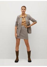 Mango - CHARLOTT - Mini skirt - hnědá - 1