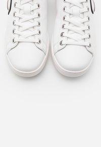 KARL LAGERFELD - KUPSOLE IKONIC LACE - Trainers - white/silver - 6