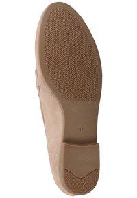 Sansibar Shoes - Półbuty wsuwane - beige - 4