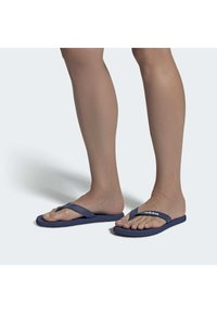 adidas Performance - EEZAY FLIP FLOPS SWIM - T-bar sandals - blue - 0