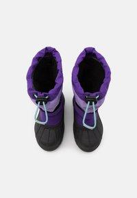 Columbia - CHILDRENS POWDERBUGPLUS II UNISEX - Winter boots - emperor/paisley purple - 3