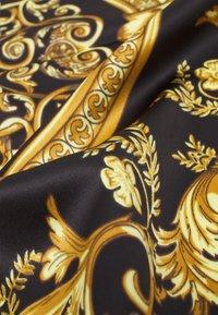 Zign - BANDANAS 2 PACK UNISEX - Foulard - black/gold - 2
