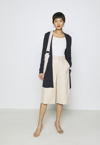TOM TAILOR - CARDIGAN LONG - Cardigan - sky captain blue - 1