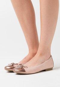 Jana - Ballet pumps - rose - 0