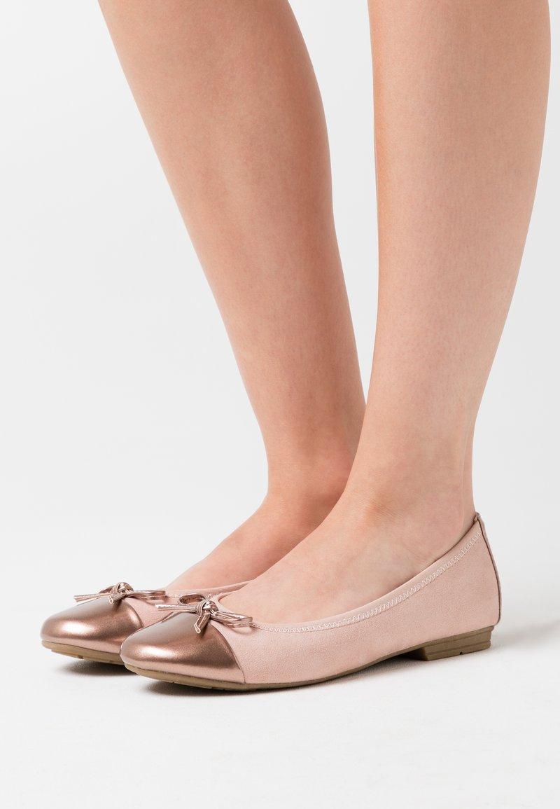 Jana - Ballet pumps - rose