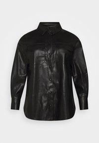 Vero Moda Curve - VMPAULINA VIP  - Skjorte - black - 7