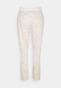 LASCANA - PANTS - Pyjama bottoms - nougat zebra - 6