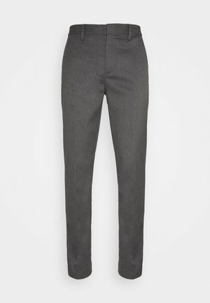 DRESS PANT - Trousers - mid grey