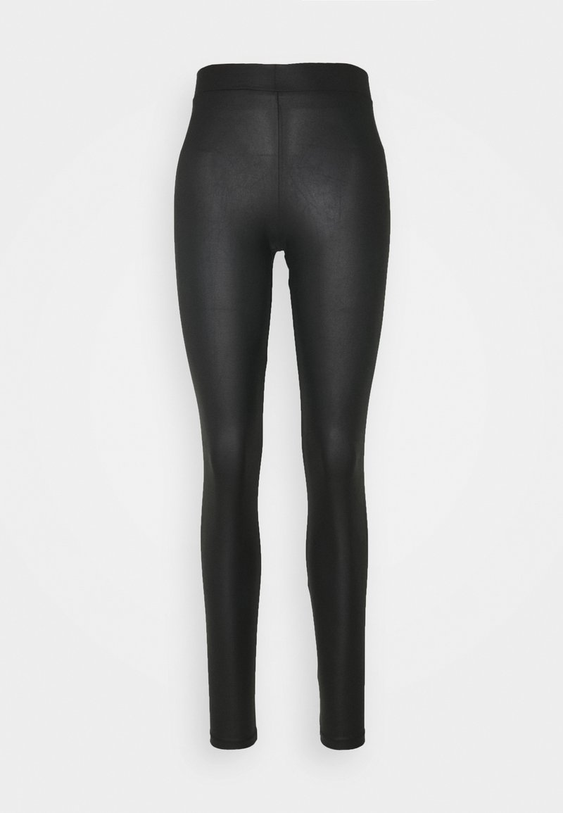 PIECES Tall - PCNEW SHINY TALL - Leggings - Trousers - black
