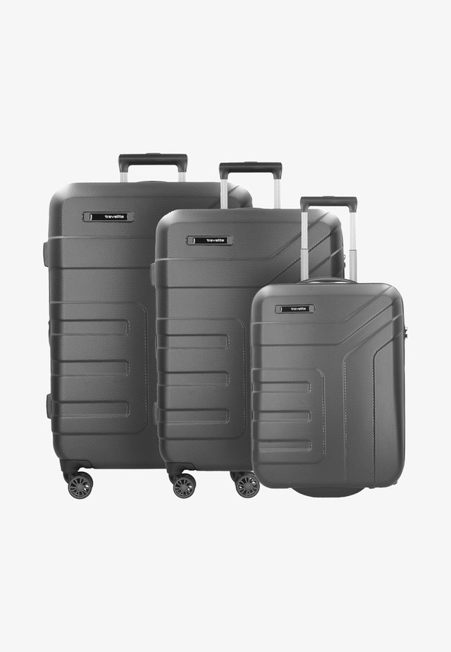 VECTOR ROLLEN - Luggage set - grey