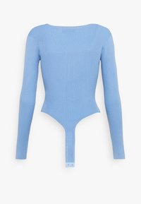 Missguided - NECK BODY - Pullover - denim blue - 1