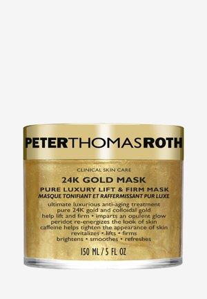 24K GOLD MASK - Masker - -