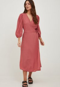 ICHI - IXADRIANA - Day dress - dusty cedar - 1