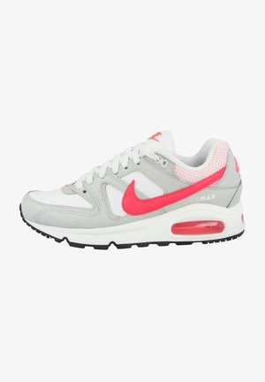 AIR MAX COMMAND  - Walking trainers - white-hyper punch-light ash grey