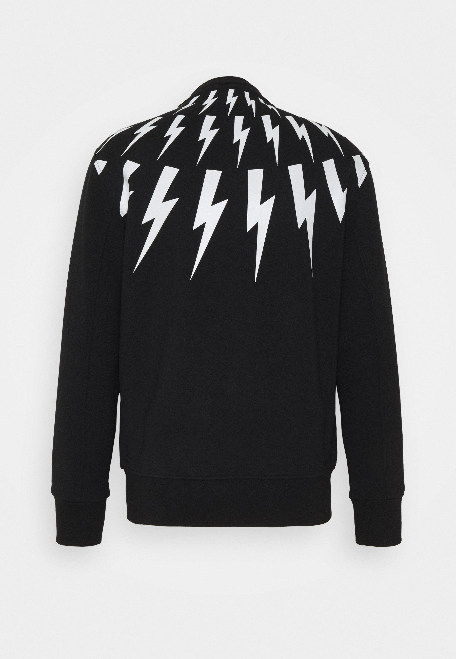 Men FAIR ISLE THUNDERBOLT - Zip-up sweatshirt