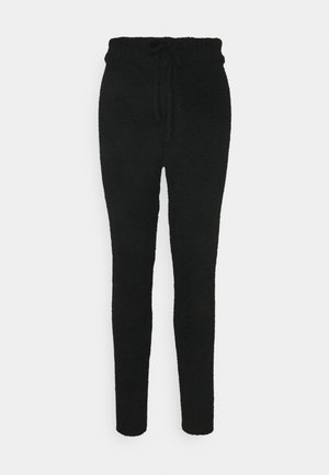 POPCORN JOGGER - Tracksuit bottoms - black