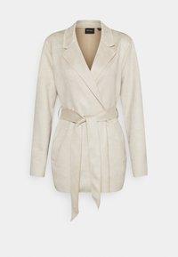 Vero Moda - VMNAPOLI JACKET - Short coat - oatmeal - 0