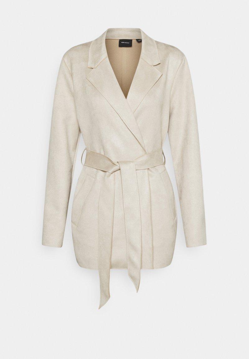 Vero Moda - VMNAPOLI JACKET - Short coat - oatmeal