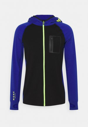 TRAVERSE FULL ZIP HOOD - Trainingsjacke - ultra blue/black