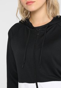 adidas Performance - LIN HOOD SET - Zip-up hoodie - black/white - 5